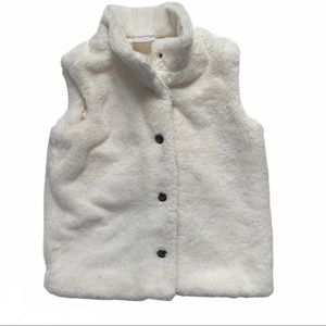 Hanna Andersson All Fur It Vest White 8